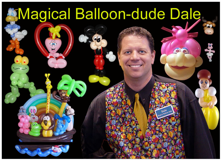 Chicago Kids Entertainer - Magical Balloon-dude Dale