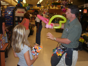 Promotional Entertainer - Preforming at Jewel Food Stores